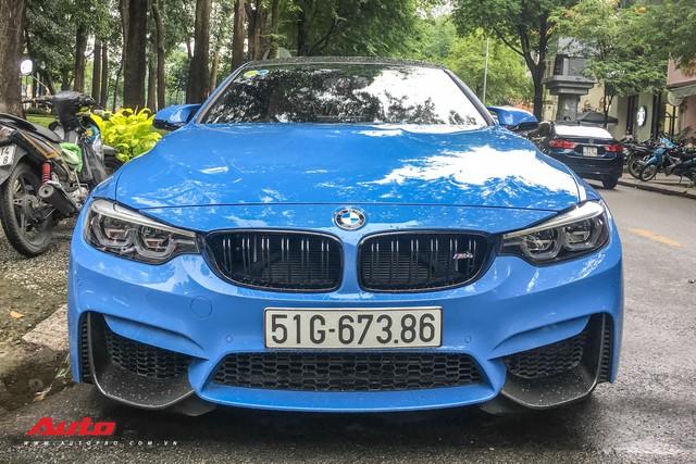 BMW M4 Coupe màu hiếm Yas Marina xuất hiện tại Sài Gòn - Ảnh 2.