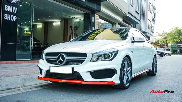 Chạy 7.000 km, Mercedes-Benz CLA 45 AMG giảm hơn 700 triệu đồng so với giá mua mới - Ảnh 1.