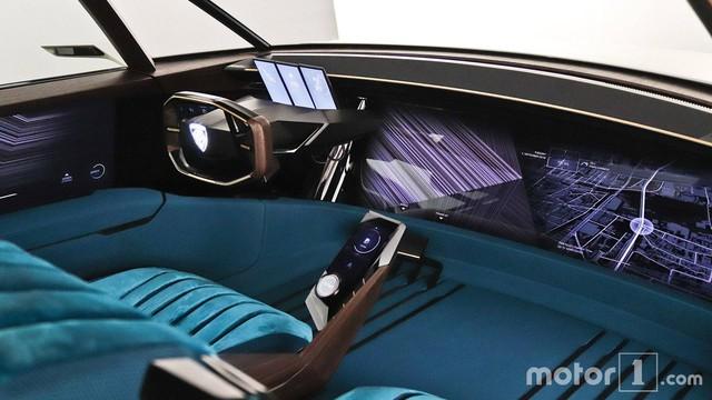 Peugeot e-Legend Concept - Xe thể thao có nội thất dát hàng loạt màn hình, lớn nhất 49 inch - Ảnh 5.