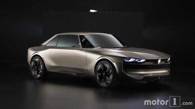 Peugeot e-Legend Concept - Xe thể thao có nội thất dát hàng loạt màn hình, lớn nhất 49 inch - Ảnh 1.