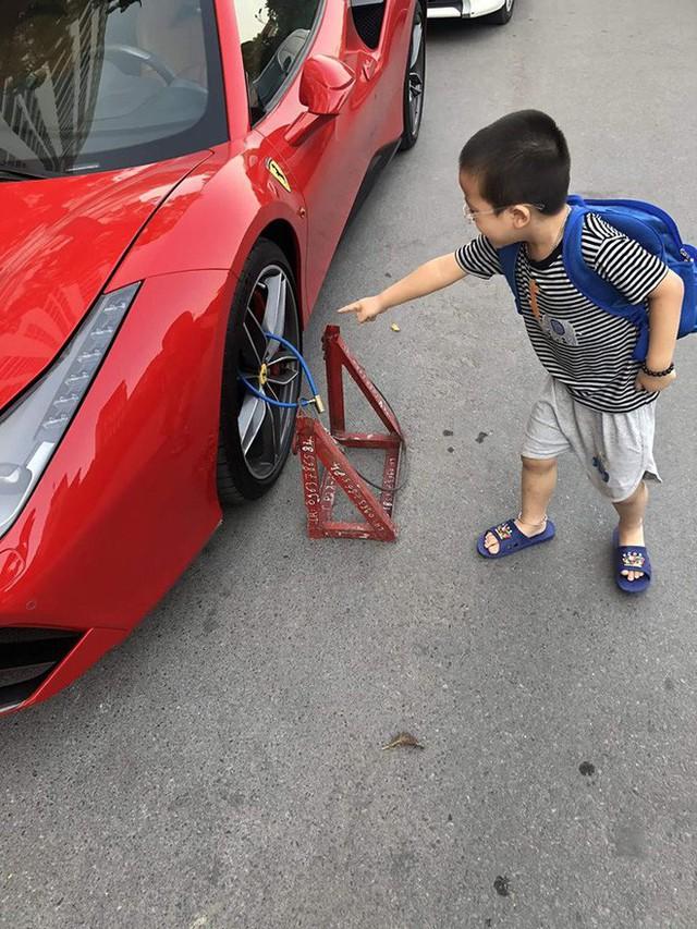 Siêu xe Ferrari bị xích bánh giữa đường, 2 ngày không ai tới nhận, bao lời đồn đại bủa vây - Ảnh 3.