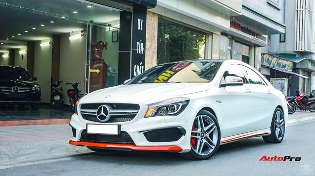 Chạy 7.000 km, Mercedes-Benz CLA 45 AMG giảm hơn 700 triệu đồng so với giá mua mới