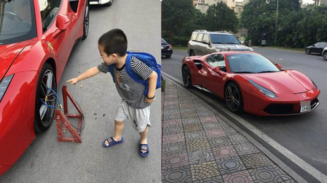 Siêu xe Ferrari bị xích bánh giữa đường, 2 ngày không ai tới nhận, bao lời đồn đại bủa vây