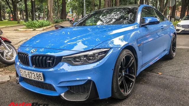 """BMW M4 Coupe màu hiếm """"Yas Marina"""" xuất hiện tại Sài Gòn"""