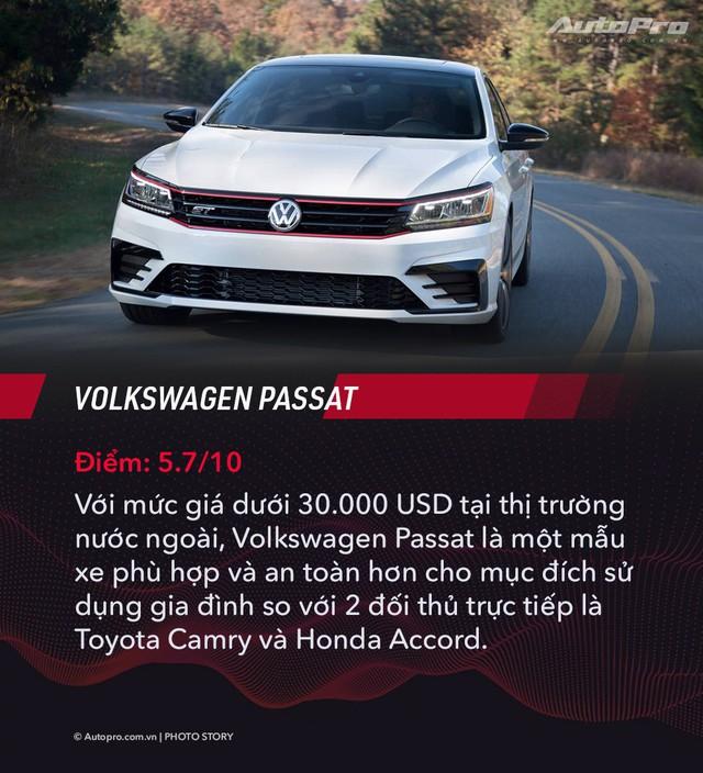 Nhiều sedan bán kém tại Việt Nam nhưng được đánh giá tốt nhất tại Mỹ - Ảnh 4.