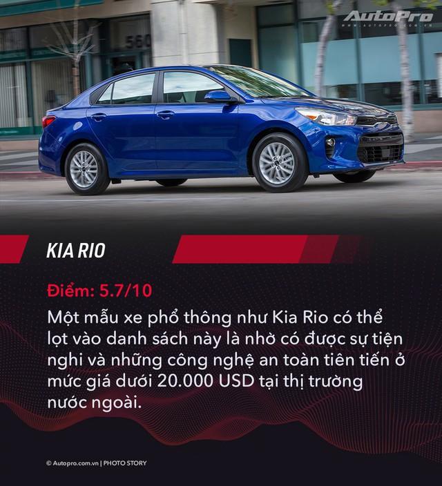 Nhiều sedan bán kém tại Việt Nam nhưng được đánh giá tốt nhất tại Mỹ - Ảnh 2.