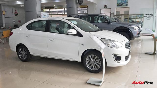 Mitsubishi Mirage và Attrage 2018 hạ giá rẻ nhất hạng B, cạnh tranh cả Toyota Wigo - Ảnh 3.