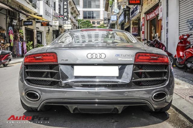 Audi R8 V10 số sàn - Siêu xe độc nhất Việt Nam và khó có chiếc thứ 2 - Ảnh 2.