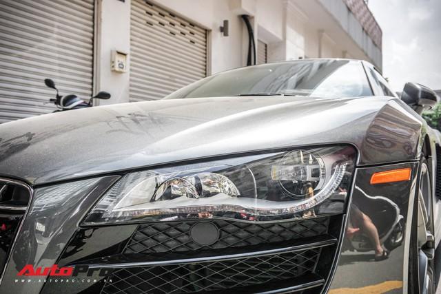 Audi R8 V10 số sàn - Siêu xe độc nhất Việt Nam và khó có chiếc thứ 2 - Ảnh 6.