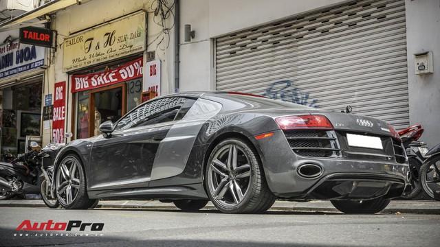 Audi R8 V10 số sàn - Siêu xe độc nhất Việt Nam và khó có chiếc thứ 2 - Ảnh 17.