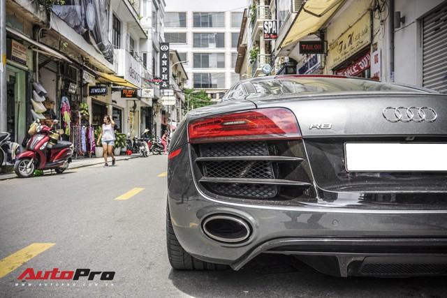 Audi R8 V10 số sàn - Siêu xe độc nhất Việt Nam và khó có chiếc thứ 2 - Ảnh 12.