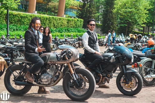 500 quý ông, quý bà biker cùng 400 mô tô khuấy động Hà Nội - Ảnh 8.