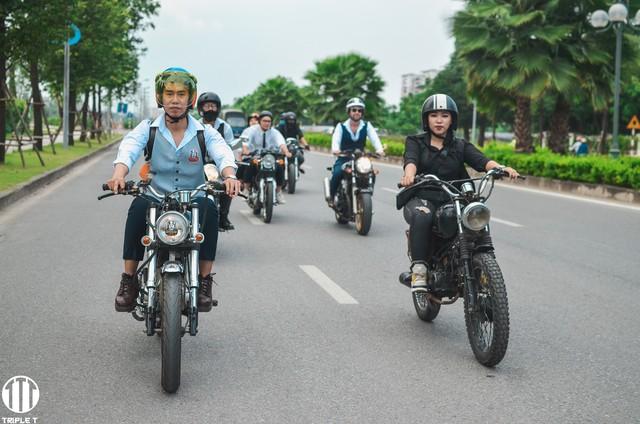 500 quý ông, quý bà biker cùng 400 mô tô khuấy động Hà Nội - Ảnh 10.