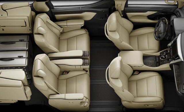 Chuyên cơ mặt đất Toyota Alphard nâng cấp tại Việt Nam, giá tăng hơn 500 triệu đồng - Ảnh 9.