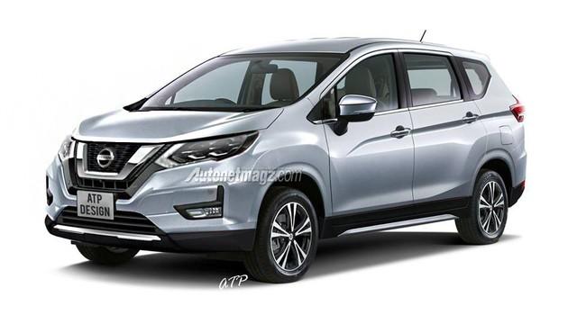 Nissan làm MPV từ Mitsubishi Xpander, ra mắt tháng 4/2019 - Ảnh 1.