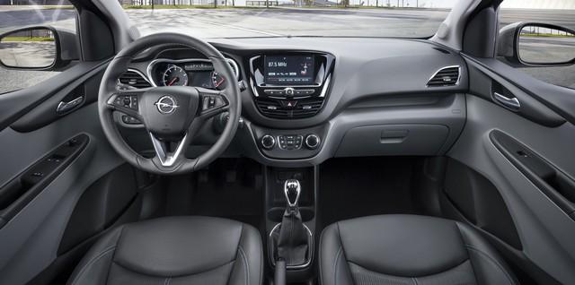 Đoán trang bị trên xe nhỏ giá rẻ VinFast Fadil khi nhìn từ cặp song sinh Chevrolet Spark, Opel Karl - Ảnh 3.