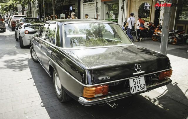 Mercedes-Benz 220 - Hàng hiếm hơn 40 năm tuổi của dân chơi Sài Gòn - Ảnh 7.