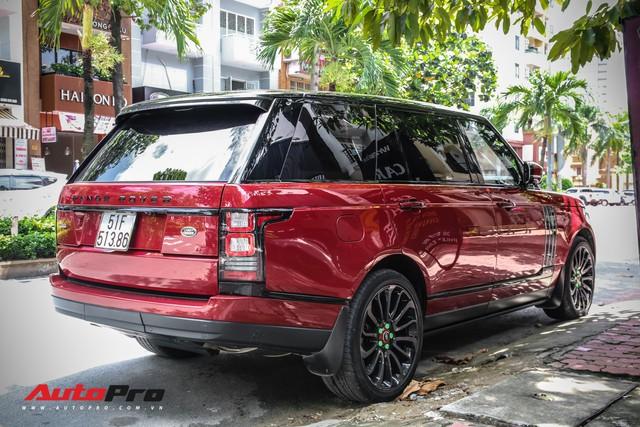 Range Rover Autobiography LWB màu đỏ độc đáo của đại gia sở hữu Lamborghini Huracan và McLaren 650S Spider - Ảnh 1.