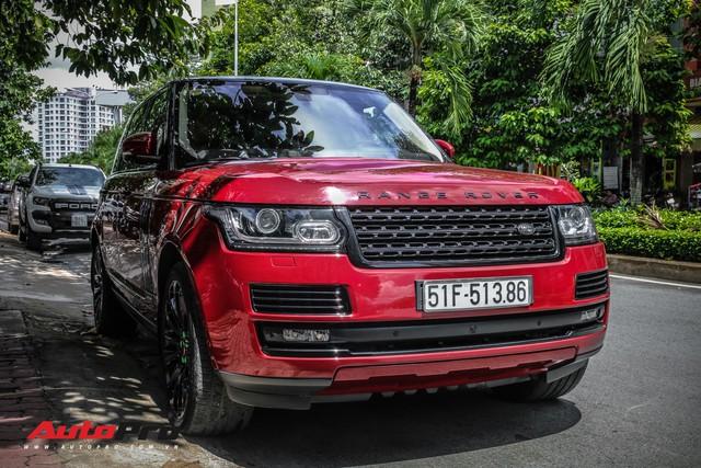 Range Rover Autobiography LWB màu đỏ độc đáo của đại gia sở hữu Lamborghini Huracan và McLaren 650S Spider - Ảnh 4.
