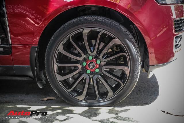 Range Rover Autobiography LWB màu đỏ độc đáo của đại gia sở hữu Lamborghini Huracan và McLaren 650S Spider - Ảnh 6.