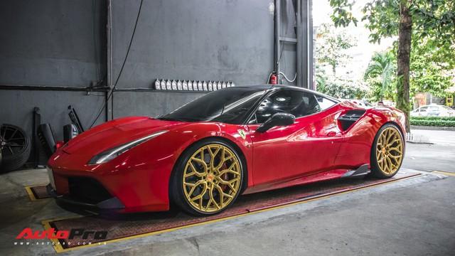 Năm chiếc siêu xe Ferrari rủ nhau đi bão dưỡng tại Sài Gòn - Ảnh 8.