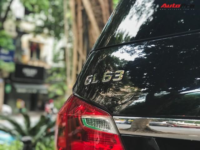 Bắt gặp SUV Mercedes-AMG GL63 duy nhất đang lăn bánh tại Hà Thành - Ảnh 13.