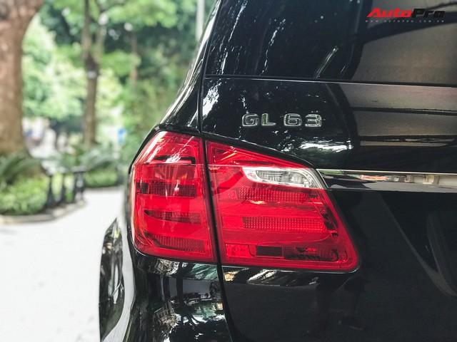Bắt gặp SUV Mercedes-AMG GL63 duy nhất đang lăn bánh tại Hà Thành - Ảnh 11.