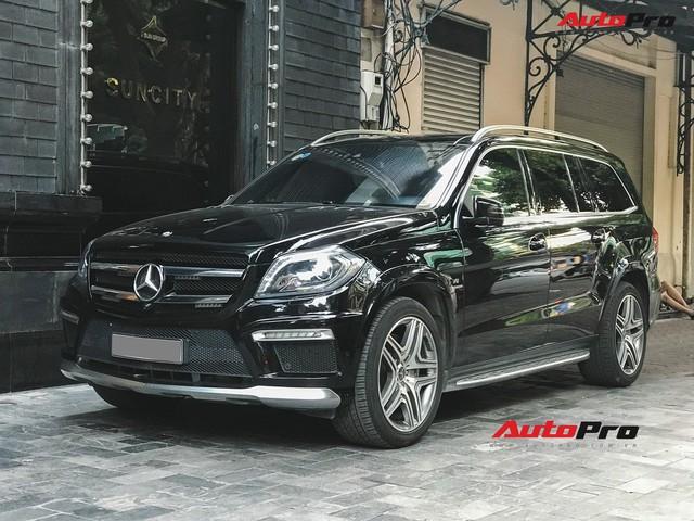Bắt gặp SUV Mercedes-AMG GL63 duy nhất đang lăn bánh tại Hà Thành - Ảnh 1.