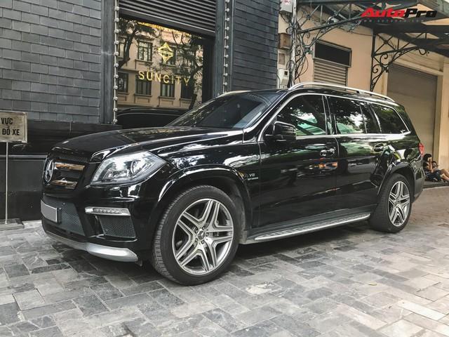 Bắt gặp SUV Mercedes-AMG GL63 duy nhất đang lăn bánh tại Hà Thành - Ảnh 5.