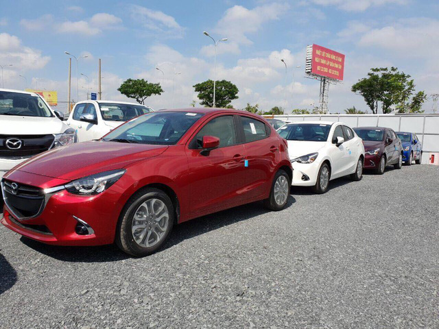 Mazda2 mới, nhập khẩu Thái Lan đã về đại lý với nhiều thay đổi bên trong, giá dự kiến từ 509 triệu đồng - Ảnh 6.