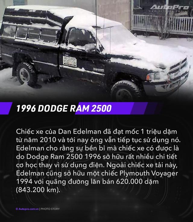Những câu chuyện đặc biệt sau mỗi chiếc xe có odo hơn 1 triệu dặm (1,36 triệu km) - Ảnh 7.
