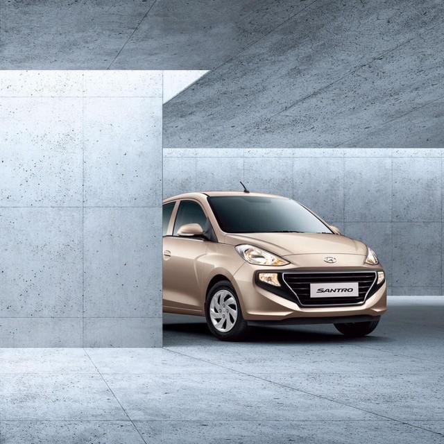 Cạnh tranh VinFast Fadil, Hyundai Santro chuẩn bị ra mắt tại Việt Nam? - Ảnh 2.