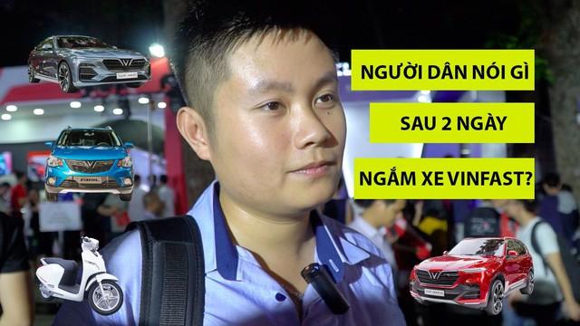 Khách hàng Việt Nam nghĩ gì về 4 dòng xe VinFast vừa ra mắt tại Hà Nội?