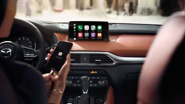 Mazda bắt đầu tích hợp Apple CarPlay và Android Auto lên xe cũ