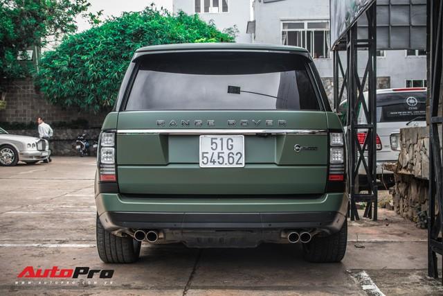 Khám phá Range Rover SVAutobiography LWB chuyên chở khách VIP của ông chủ cafe Trung Nguyên - Ảnh 12.