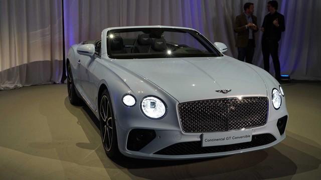 Bentley giới thiệu Continental GT Convertible 2019 - Ảnh 2.