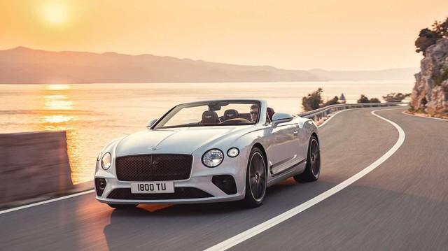 Ra mắt Bentley Continental GT Convertible 2019 - Mui trần siêu sang bán chạy của nhà giàu