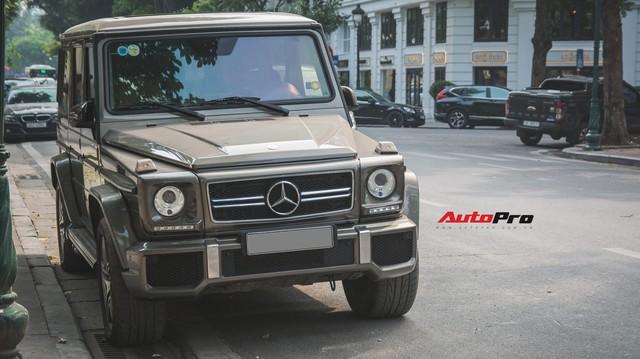 Chán màu sặc sỡ, dân chơi Hà Thành đưa chiếc Mercedes-AMG G63 về màu nguyên bản độc nhất Việt Nam