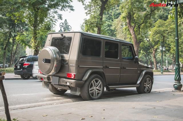 Chán màu sặc sỡ, dân chơi Hà Thành đưa chiếc Mercedes-AMG G63 về màu nguyên bản độc nhất Việt Nam - Ảnh 4.