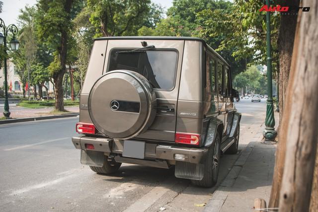 Chán màu sặc sỡ, dân chơi Hà Thành đưa chiếc Mercedes-AMG G63 về màu nguyên bản độc nhất Việt Nam - Ảnh 5.