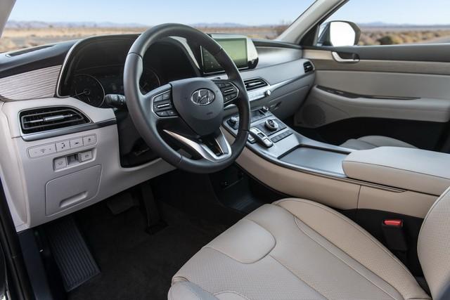 Ra mắt Hyundai Palisade - Đàn anh Santa Fe, đối đầu Ford Explorer - Ảnh 10.