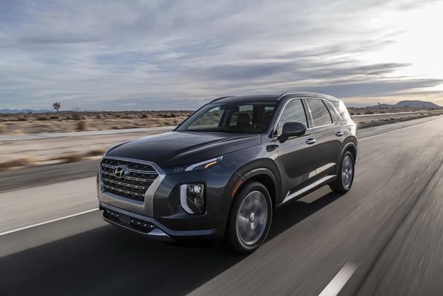 Ra mắt Hyundai Palisade - Đàn anh Santa Fe, đối đầu Ford Explorer - Ảnh 3.
