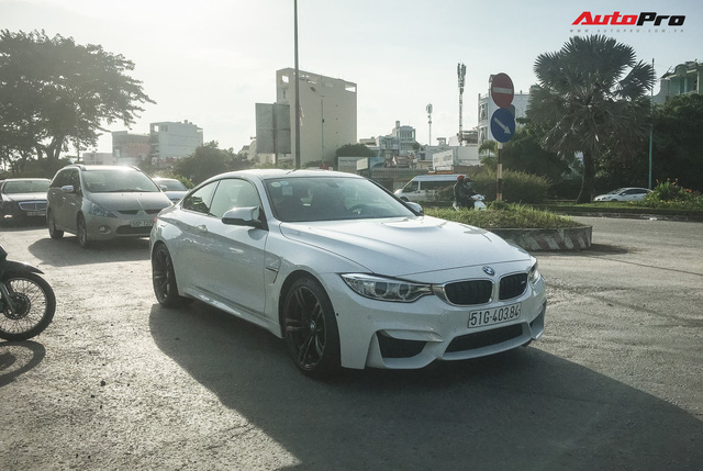 Bắt gặp chiếc BMW M4 Coupe độc nhất Việt Nam - Ảnh 2.