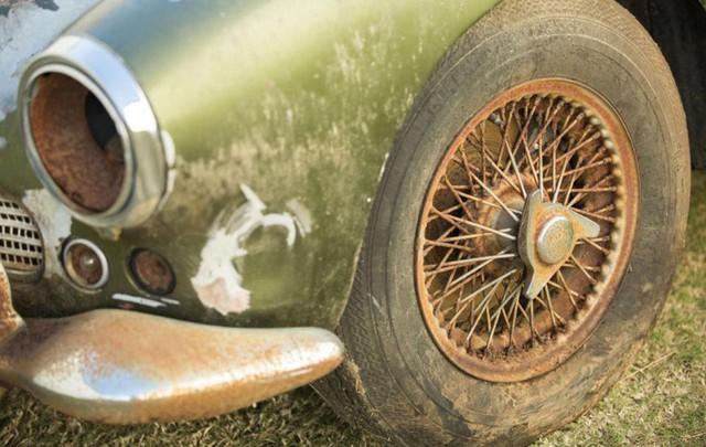 Bị bỏ hoang 40 năm trong rừng, xe Aston Martin độn giá gấp 100 lần so với ban đầu - Ảnh 2.