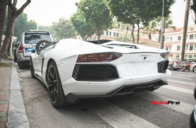 Lamborghini Aventador Roadster từng của Cường Đô-la lạ lẫm sau khi qua tay đại gia Hà thành - Ảnh 2.