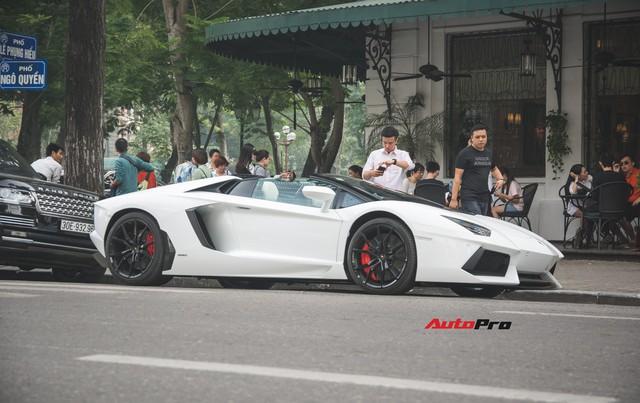 Lamborghini Aventador Roadster từng của Cường Đô-la lạ lẫm sau khi qua tay đại gia Hà thành - Ảnh 1.