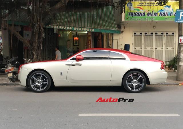 Đại gia Hà Thành phối màu lạ lẫm cho chiếc Rolls-Royce Wraith  - Ảnh 5.