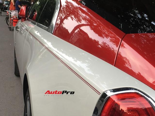 Đại gia Hà Thành phối màu lạ lẫm cho chiếc Rolls-Royce Wraith  - Ảnh 7.