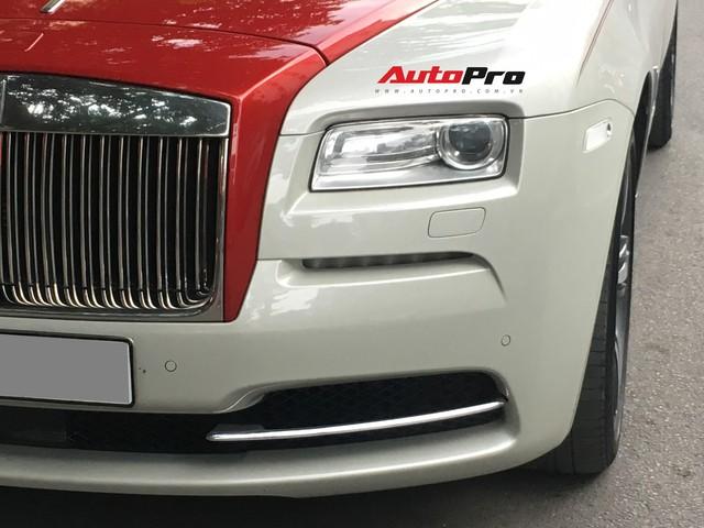 Đại gia Hà Thành phối màu lạ lẫm cho chiếc Rolls-Royce Wraith  - Ảnh 4.