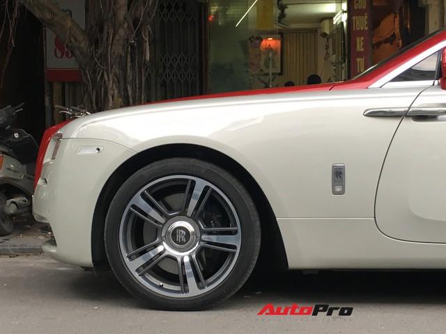Đại gia Hà Thành phối màu lạ lẫm cho chiếc Rolls-Royce Wraith  - Ảnh 6.